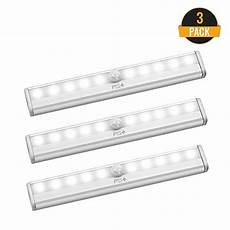 Best Battery Operated Led Lights Led Motion Sensor Light 10 Led Battery Operated Lights