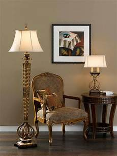 Living Room Lighting Floor Lamps Castalia Floor Lamp And Table Lamp From Murray Feiss