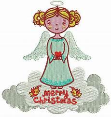 Christmas Angel Designs Christmas Angel 2 Embroidery Design