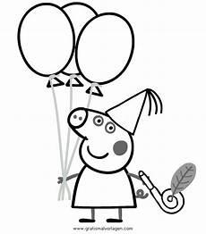 peppa wutz 25 gratis malvorlage in comic