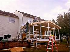 how to build a sunroom how does it take to build a sunroom livingspace