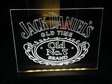 Alcohol Light Up Signs Jd Jack Daniels Light Up Sign Illuminated By
