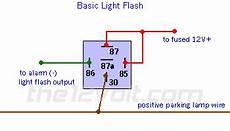 How To Make Reverse Lights Flash Light Flash Basic Negative Input Positive Output Relay