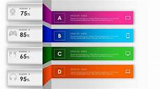 Design Of Shaft Ppt How To Design Abstract Background With 4 Steps Parts