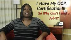 Cant Find Job New Oracle Dba With Ocp Certification But Can T Find A Job