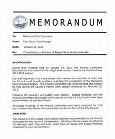 Memo Format For Word Blank Memo 8 Examples In Word Pdf