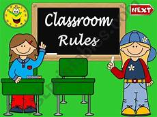 Powerpoint Rules Esl English Powerpoints Classroom Rules