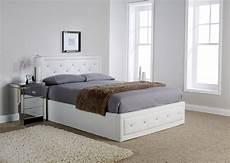 king florida white ottoman bed frame dublin beds
