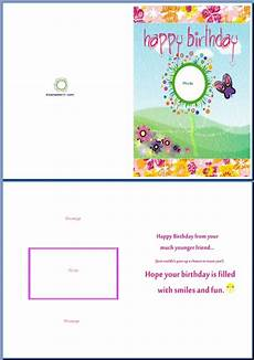 Free Birthday Cards Templates For Word Free Other Design File Page 19 Newdesignfile Com