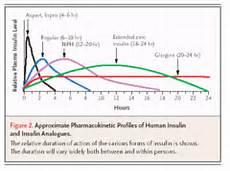 Lantus Peak Times Chart Diabetes Flashcards Quizlet