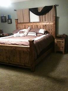 white king size farmhouse bed diy projects