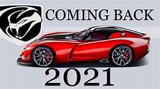 dodge viper 2020 2021 dodge viper hinted by car and driver updated read