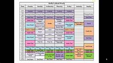 Make A Timetable For Me How To Create An Ideal Schedule Youtube