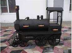 Train BBQ Smoker   Custom Novelty BBQ Grills   Must Haves