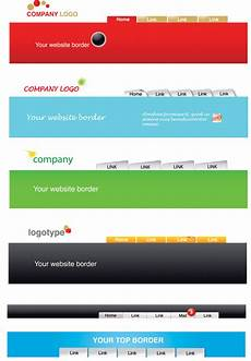 Header Templates For Word Website Header Template 6017 Free Eps Download 4 Vector