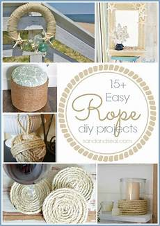 15 easy rope crafts sand and sisal