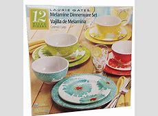 Laurie Gates   12 Piece Melamine Dinnerware Set   eBay