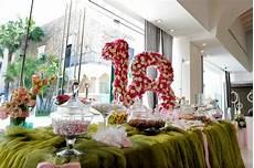 fiori 18 anni addobbi floreali per feste di compleanno 18 anni