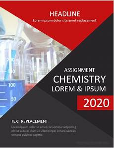 Chemistry Cover Page Designs Chemistry Assignment Cover Pages Ms Word Cover Page
