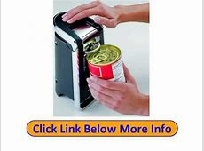 Buy Hamilton Beach 76606Z Smooth Touch Can Opener, Black