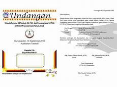 contoh surat undangan wisuda undangan sekolah tinggi