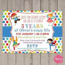 Costume Party Invites Boys Birthday Party Invite Fancy Dress Costume Party