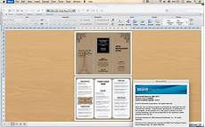 Free Tri Fold Template Word Design Amp Templates Tri Fold Take Out Menu Menu Templates