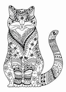 Malvorlage Katze Getigert Real Cat Coloring Pages At Getcolorings Free
