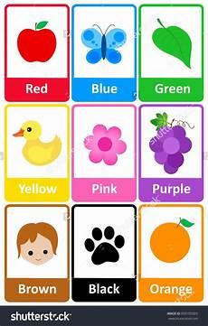 Basic Color Chart For Kids Imagen Relacionada Preschool Colors Color Flashcards