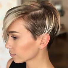 kurzhaarfrisuren 2019 frech braun cortes de cabello corto 2020 50 fotos y tendencias