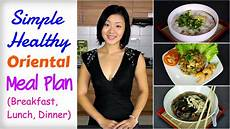 healthy asian meal plan to lose weight breakfast lunch
