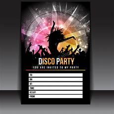 Disco Party Invitations 20 X Disco Party Invitations Invites Kids Child