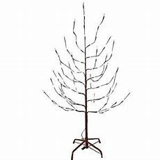 6 Ft Lighted Twig Tree 6 Ft Pre Lit Brown Twig Artificial Christmas Holiday