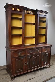 reclaimed mahogany dresser display cabinet