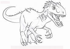 Ausmalbilder Dinosaurier Indoraptor Ausmalbilder Dinosaurier Indoraptor Kostenlose