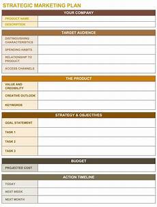 Simple Strategic Plan Template Simple Marketing Plan Template Catchy Printable Template