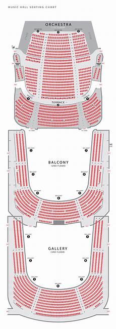 Usher Hall Seating Chart Seating Charts Cincinnati Arts