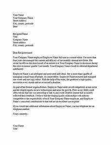 Writing A Reference Letter For An Employee Reference Letter For Professional Employee