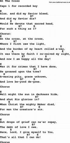 At The Cross Chord Chart Hank Williams Song At The Cross Lyrics And Chords