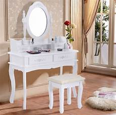 vanity vintage jewelry makeup dressing table set mirror