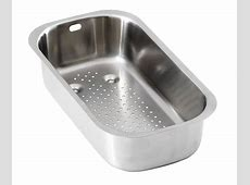 Carron Phoenix Strainer Bowl 112.0018.906 . Stainless Steel Strainer Bowl. Taps And Sinks Online