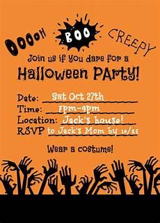 Halloween Invites Halloween Party Ideas For Kids Momof6