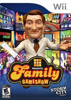 Game Show Game Family Game Show Nintendo Wii Game