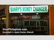 Sanry's Money Changer Greenbelt 1 Ayala Center Makati