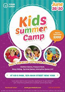 Kids Flyers Kids Summer Camp Flyer 02 By Vynetta Graphicriver
