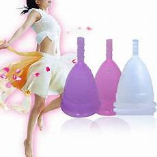 menstrual cup be cup silicone 2 sizes reusable silicone menstrual cup period soft