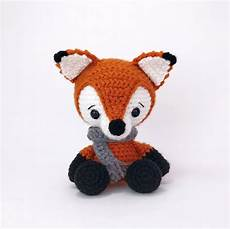 pattern frankie the fox crochet fox pattern amigurumi fox