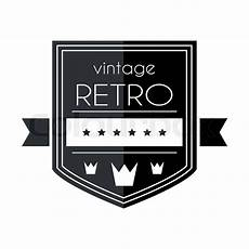 Retro Logo Maker Retro Vintage Logo Template Vector Stock Vector