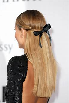 12 half up half hairstyles you to try stylecaster