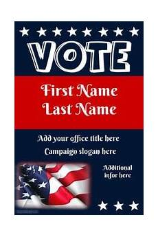 Campaign Poster Template Free 50 Free Election Poster Templates Word Templates